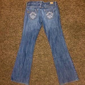 Paige Premium Denim Womens Jeans, 27, cute pockets